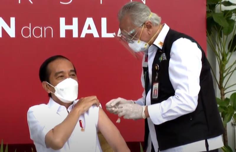佐科:我成為印尼首個中國新冠疫苗接種者,感謝支持