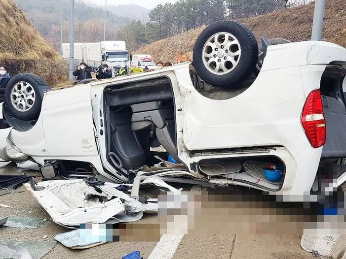 韓國一高速路段發生嚴重車禍,致10名中國公民死傷