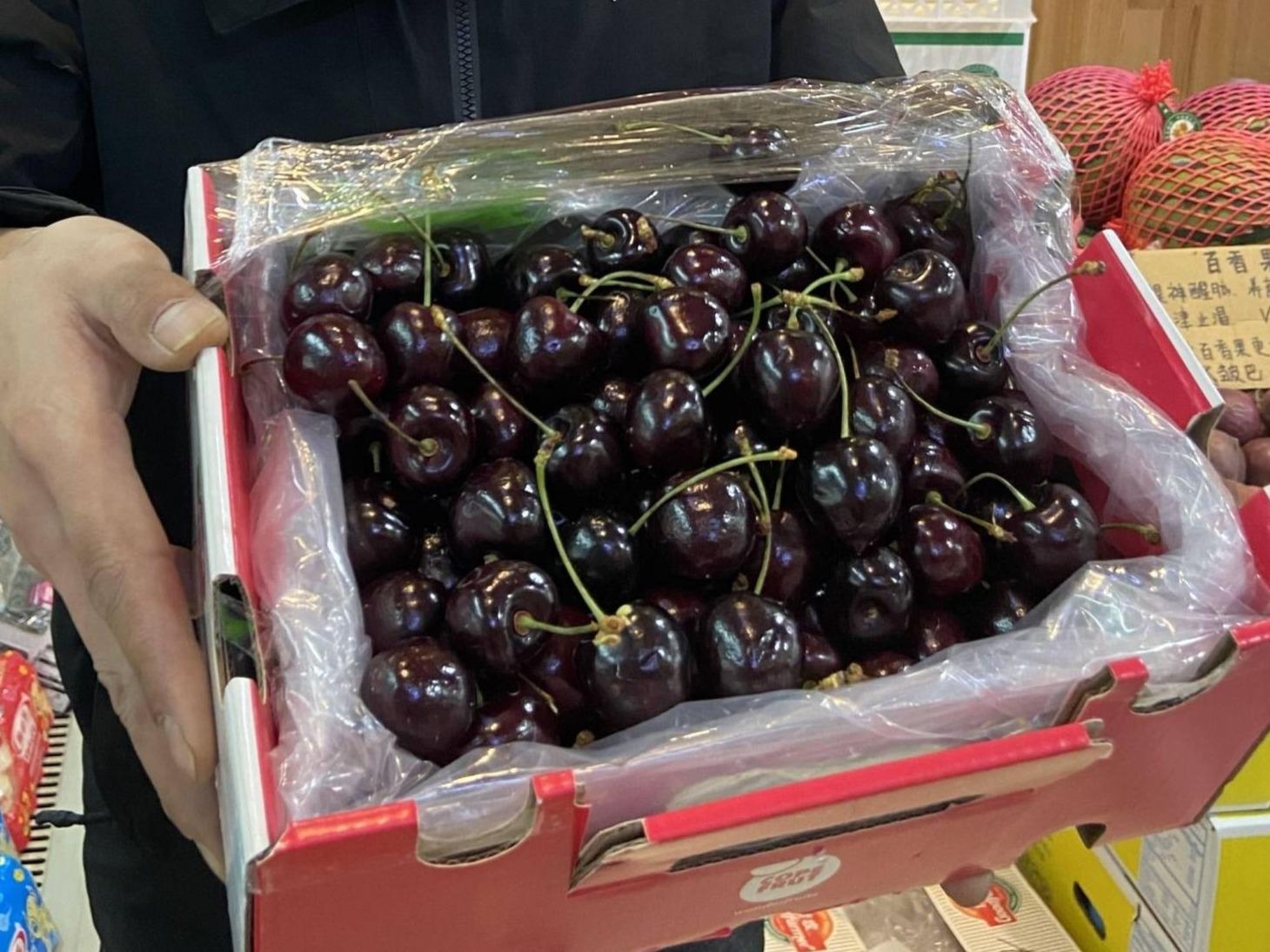 安徽宣城:一批涉疫進口櫻桃已在1月8日前全部售空