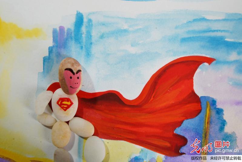 """猴""""超人和卡通"""