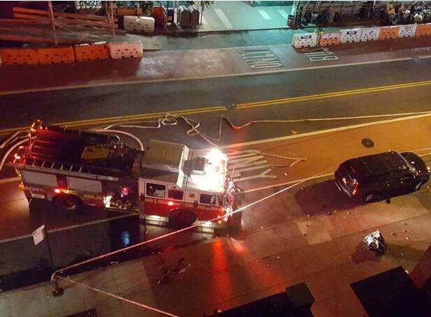 美国新泽西火车站附近发生爆炸 此前一天内3次恐袭