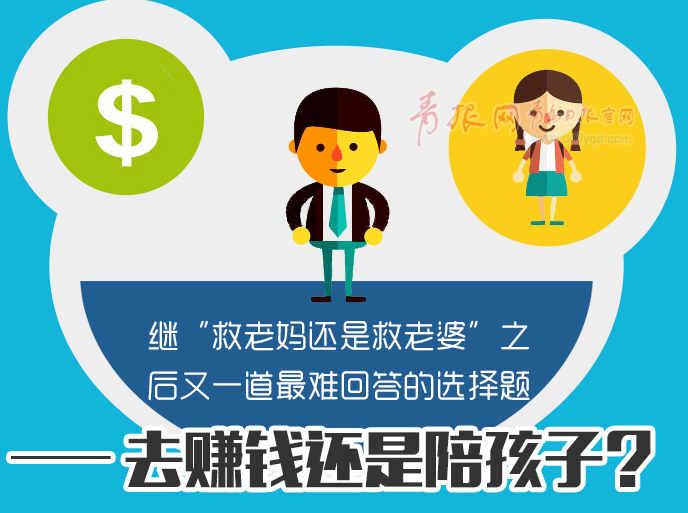 又一最难选择题:去赚钱还是陪孩子?