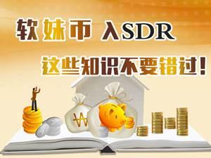 人民币入SDR 这些知识点不要错过!