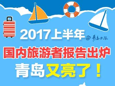 2017上半年国内旅游者报告出炉 青岛又亮了!