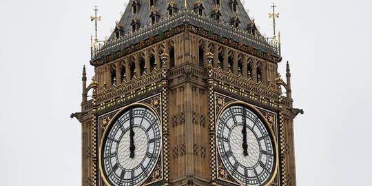 """英国""""大本钟""""最后一次报时 将进入4年沉默期"""