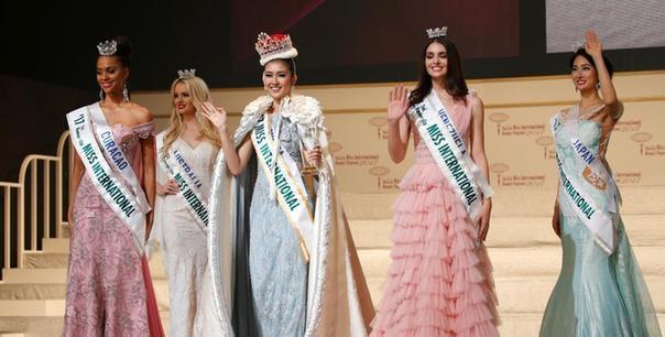 国际小姐大赛结果出炉 21岁印尼大学生夺冠