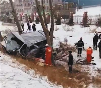 警方通报北林大女生4死5伤车祸:涉嫌追逐竞驶