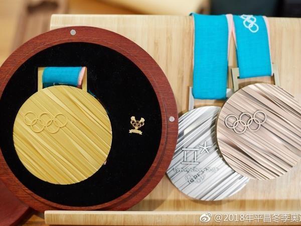 平昌冬奥奖牌史上最重 金牌千足银总价超百万