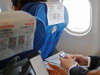 今起多个航司手机解禁 青岛至洛杉矶可连WiFi