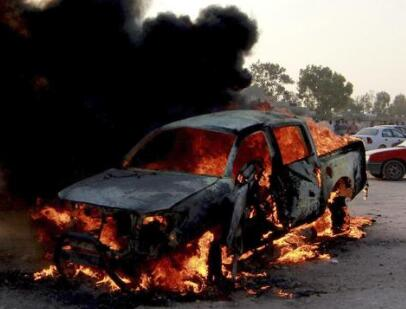 利比亚发生两起汽车炸弹爆炸至少43人伤亡