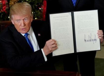 美将公布移民协议框架 特朗普拟在国情咨文中阐述