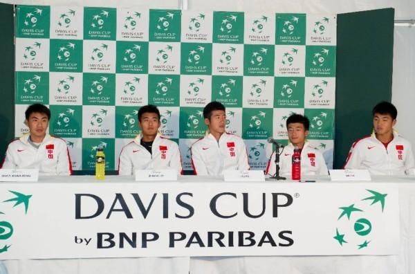 戴维斯杯网球赛即将开赛 中国队信心满满