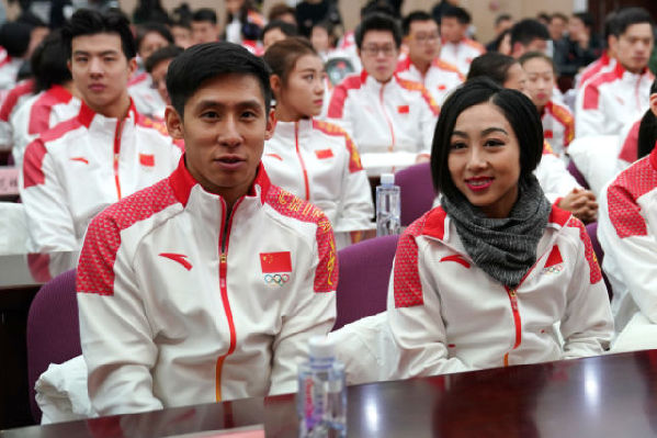 冬奥会中国代表团抵达平昌 7日举行升旗仪式