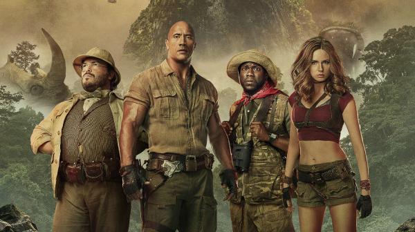 《勇敢者游戏:决战丛林》重夺北美票房榜冠军