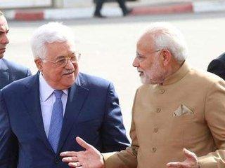 搞平衡外交?印以关系升温后印总理访巴勒斯坦