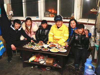 【新春走基层】浮山上吃团圆饺子