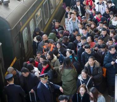 2018年铁路春运累计发送旅客破2亿人次 同比增5%