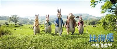 真人动画片《比得兔》 将于元宵登陆银幕