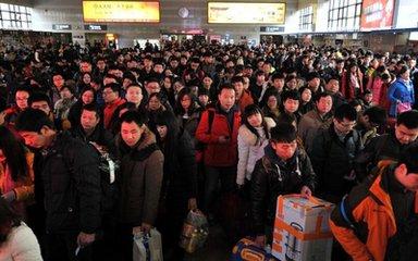 铁路部门:新一轮客流高峰将于元宵节前后到来