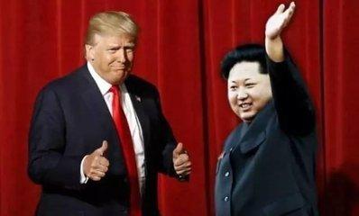 """特朗普说与金正恩的会面""""正在计划中"""""""