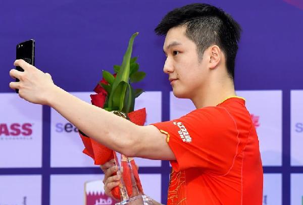 卡塔尔乒乓球公开赛中国队囊括所有项目冠军