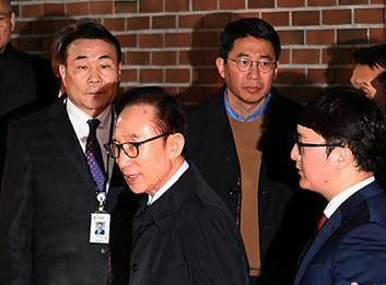 李明博拒绝接受狱中调查 韩检方称将按原计划进行