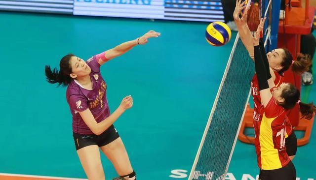 中国女排超级联赛 天津女排3:2惊险夺冠