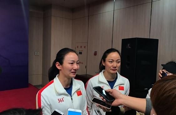 中国花样游泳金牌搭档积极备战今年亚运会