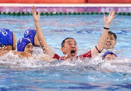 """精彩!全国男子水球冠军赛玩出""""新花样"""""""