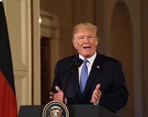 特朗普说美朝领导人会晤时间和地点有望数日内公布