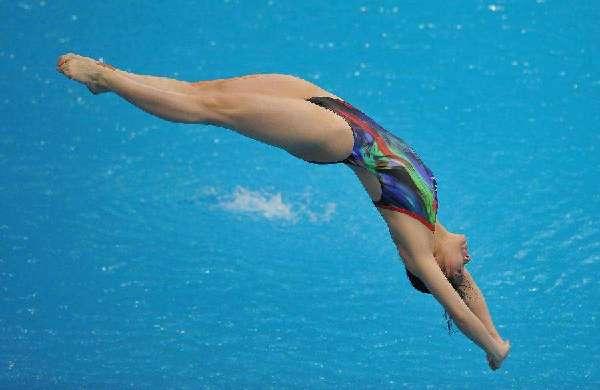 国际泳联跳水系列赛喀山站中国队7金收官