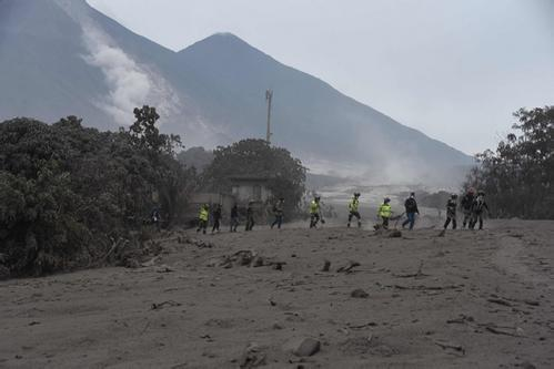 危地马拉火山喷发造成73人死亡 将近200人失踪