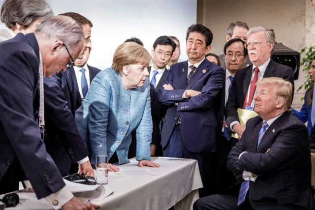 "G7峰会不欢而散 各国""斗图""原来是为了这件事"