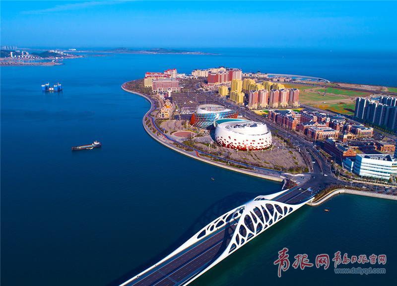星光岛,万达茂,青岛电影博物馆,影视产业园,积米崖渔人码头和西海岸
