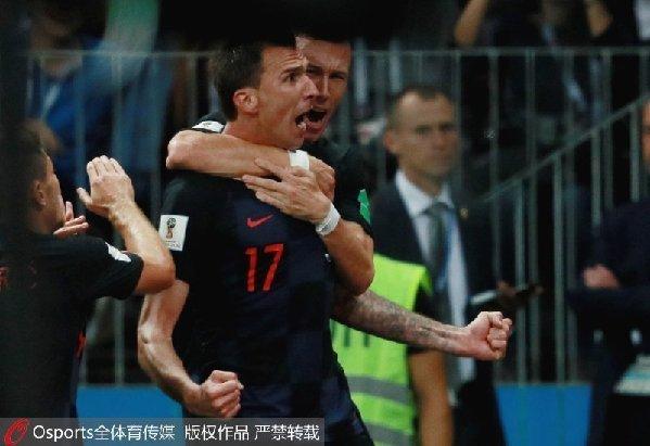 加时准绝杀 克罗地亚历史首进世界杯决赛