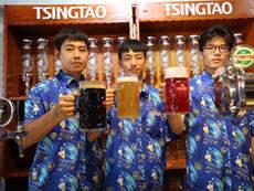 全民狂欢!第28届青岛国际啤酒节崂山会场开幕