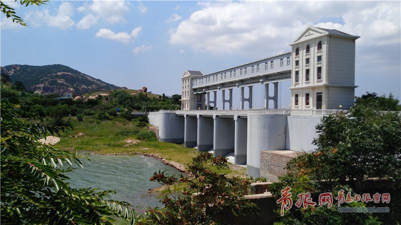 崂山水库风景如画,当前库容1800万立方米。王凯摄1.jpg