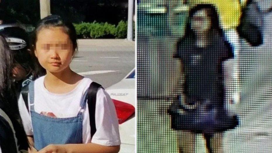 """12岁中国女孩在美国机场失踪 警方称其处境""""非常危险"""""""