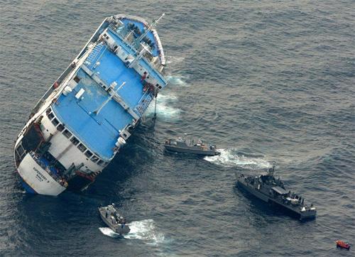菲律宾西南部一艘轮船沉没致7人死亡8人失踪