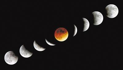 月食和月相傻傻分不清?专家教你看图识天相