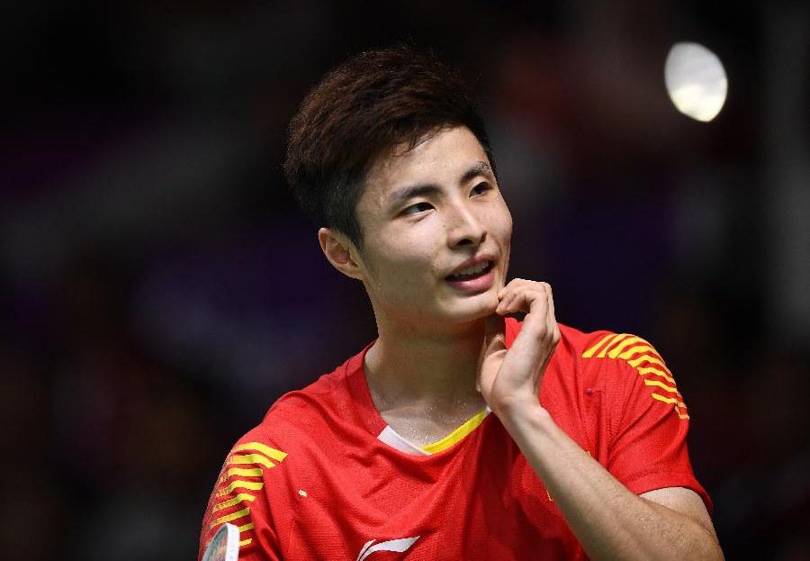 中国选手亚运赛场展现体育正能量