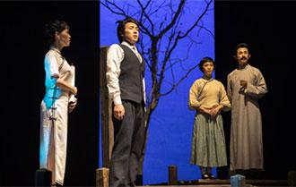 《天真之笔》在杭首演 展现郁达夫传奇人生