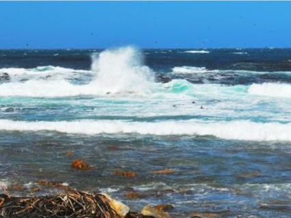 男子洗海澡险被风浪卷入远海 警民联手大海救人