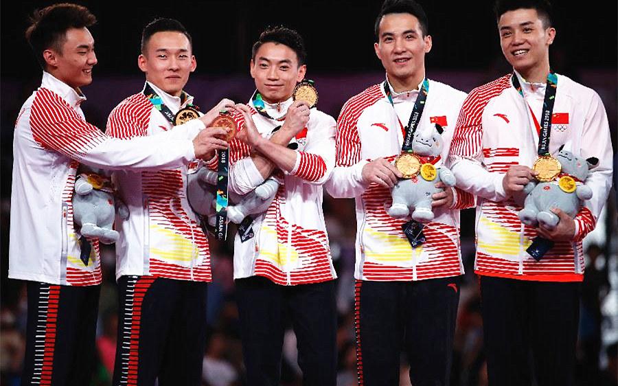 从雅加达亚运会看中国体操新气象