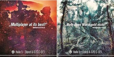 """德国征兵出新招 游戏风格海报引民众""""愤怒反对"""""""