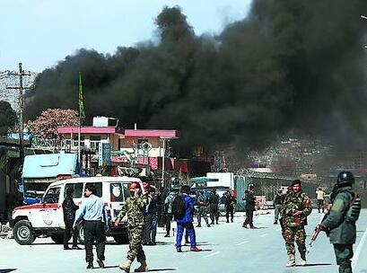 阿富汗首都发生两起爆炸袭击 造成至少16死25伤