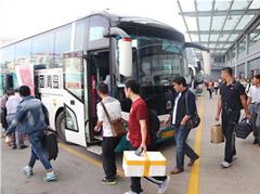 4万旅客提前返乡过节 青岛长途站今天迎客流最高峰