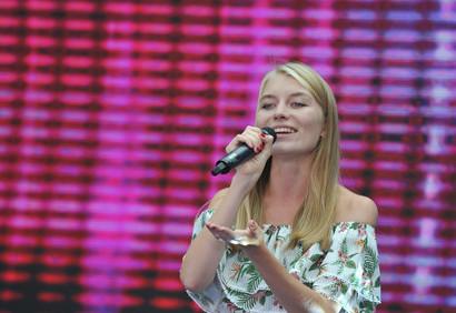 2000余名大学生献唱青岛国际大学生音乐节