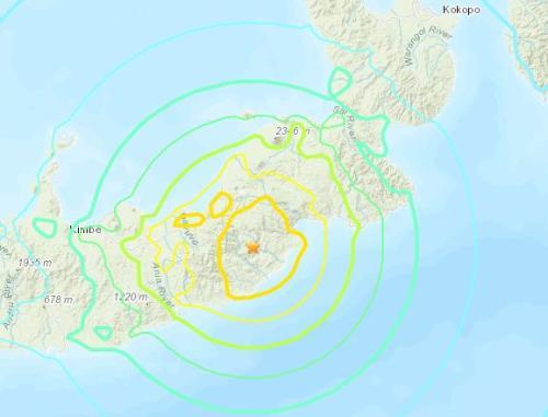 巴布亚新几内亚发生7.0级地震 触发短暂海啸警报