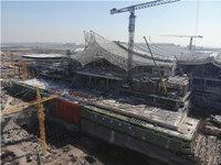地铁8号线最新进展:红岛火车站完成重要节点工期